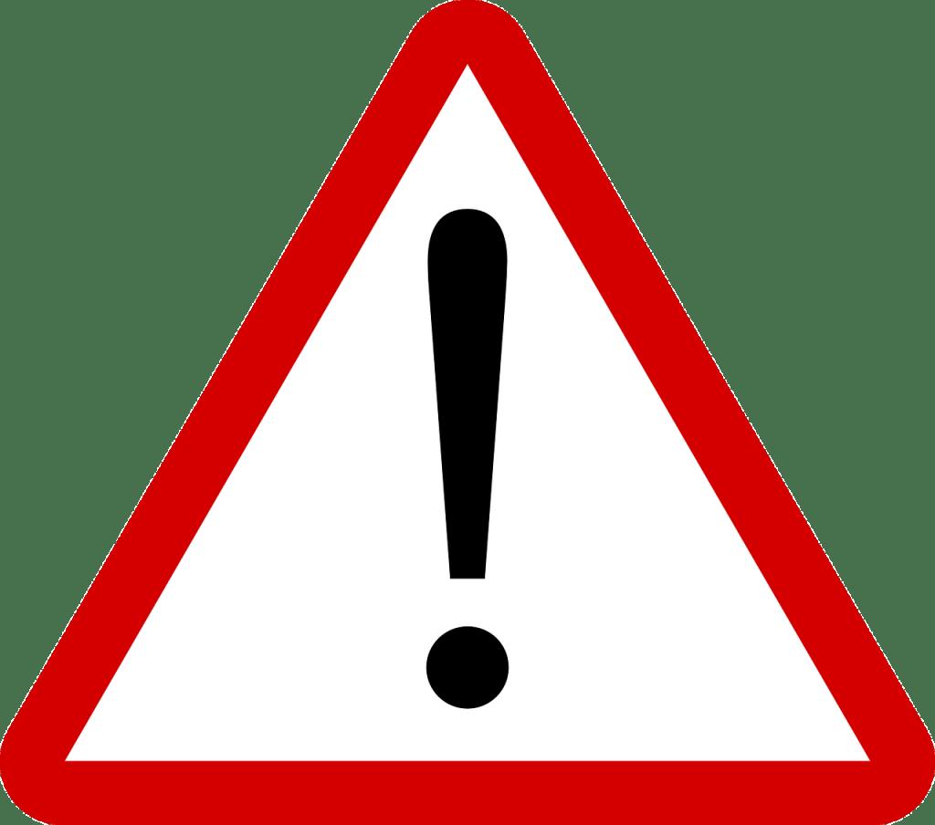 Segnale di pericolo per l'articolo Il Pianeta in pericolo: la minaccia degli allevamenti intensivi